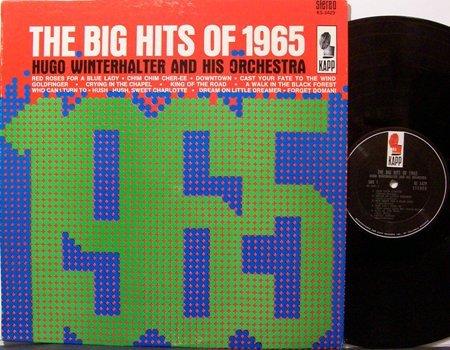 Winterhalter, Hugo - The Big Hits Of 1965 - Vinyl LP Record - Pop