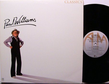 Williams, Paul - Classics - Vinyl LP Record - Pop Rock