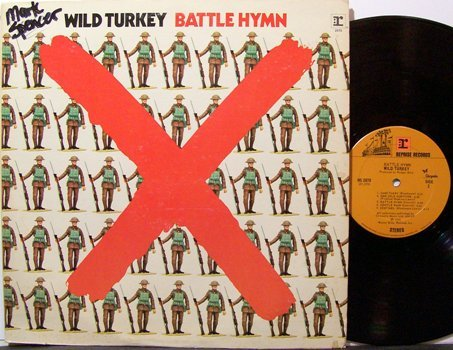 Wild Turkey - Battle Hymn - Vinyl LP Record - Rock