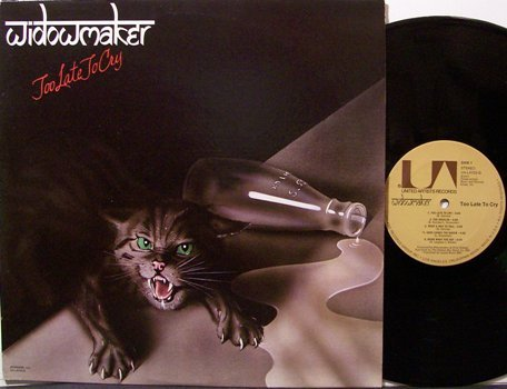 Widowmaker - Too Late To Cry - Vinyl LP Record - Rock
