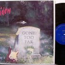 Widow - Gone Too Far - Vinyl LP Record - Rock