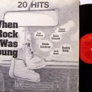 When Rock Was Young - Vinyl LP Record - Various Artists - Rockabilly Rock
