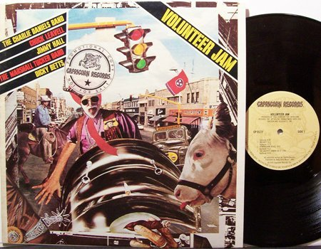 Volunteer Jam I - Vinyl LP Record - Charlie Daniels / Dickey Betts/ etc - Rock
