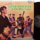 Vincent, Gene & The Blue Caps - Vruisin' With - UK Pressing - Vinyl LP Record - Rock
