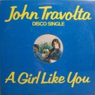 "Travolta, John - A Girl Like You - Sealed 12"" Single Record - Disco Rock"