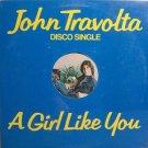 "Travolta, John - A Girl Like You - Sealed 12"" Single Record - Disco Rock"