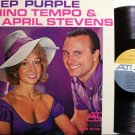Tempo, Nino & April Stevens - Deep Purple - Vinyl LP Record - Pop Rock