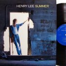 Summer, Henry Lee - Self Titled - Vinyl LP Record - Rock