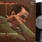 Sinatra, Frank - Where Are You - UK Pressing - Vinyl LP Record - Pop