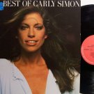 Simon, Carly - The Best Of Carly Simon - Germany Pressing - Vinyl LP Record - Rock