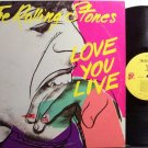 Rolling Stones, The - Love You Live - Vinyl 2 LP Record Set - Andy Warhol Cover - Rock