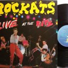 Rockats - Live At The Ritz - Vinyl LP Record - Rockabilly / Psychobilly Rock