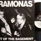 Ramonas, The - Out Of The Basement - Vinyl Mini LP Record with Order Form Insert - Rock