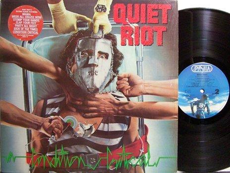 Quiet Riot - Condition Critical - Vinyl LP Record - Rock