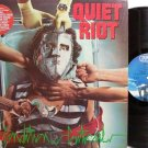 Quiet Riot - Condition Critical - Vinyl LP Record - Rock