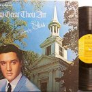 Presley, Elvis - How Great Thou Art - Vinyl LP Record - Gospel Rock