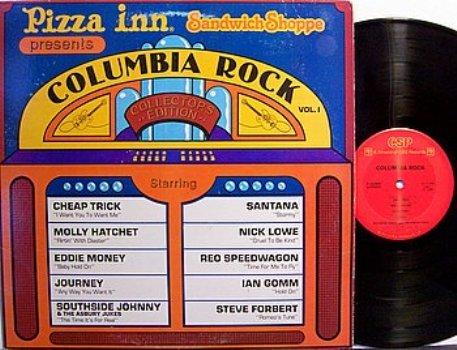 Pizza Inn Presents Columbia Rock - Various Artists - Vinyl LP Record - Rock