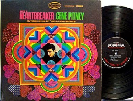 Pitney, Gene - She's A Heartbreaker - Vinyl LP Record - Rock