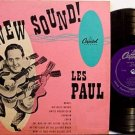 "Paul, Les - The New Sound - Vinyl 10"" LP Record - Pop Rock"
