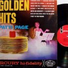 Page, Patti - Golden Hits - Vinyl LP Record - Tennessee Waltz - Pop