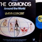 Osmonds, The - Around The World Live In Concert - Vinyl 2 LP Record Set - Pop Rock