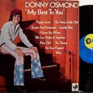 Osmond, Donny - My Best To You - Vinyl LP Record - Pop Rock