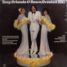 Orlando, Tony & Dawn - Greatest Hits - Sealed Vinyl LP Record - Pop Rock