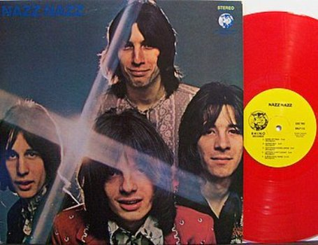 Nazz Nazz Nazz Red Colored Vinyl Lp Record Rock