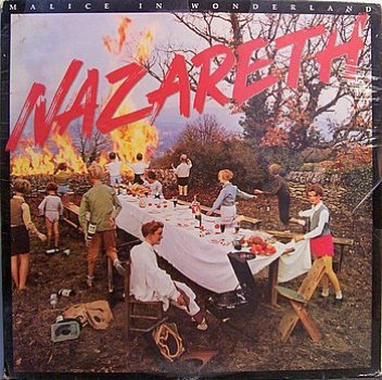 Nazareth Malice In Wonderland Sealed Vinyl Lp Record