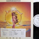 Morningstar - Venus - White Label Promo - Vinyl LP Record - Rock