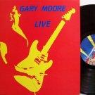 Moore, Gary - Live - UK Pressing - Vinyl LP Record - Rock