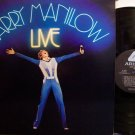 Manilow, Barry - Live - Vinyl 2 LP Record Set - Pop Rock