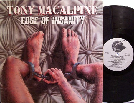 MacAlpine, Tony - Edge Of Insanity - Vinyl LP Record - Rock