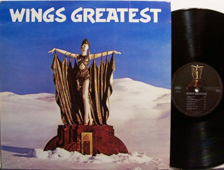 Wings, Paul McCartney And - Wings Greatest - Vinyl LP Record + Poster - Rock