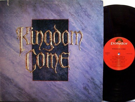 Kingdom Come - Self Titled - Vinyl LP Record - Rock