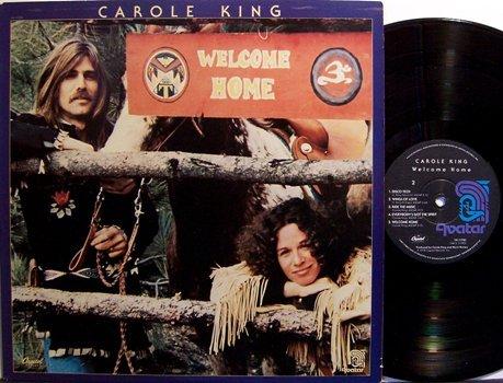 King, Carole - Welcome Home - Vinyl LP Record - Pop Rock