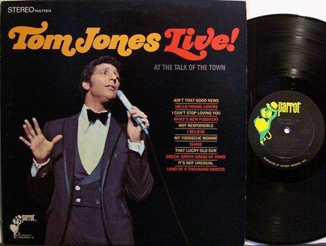 Jones, Tom - Live At The Talk Of The Town - Vinyl LP Record - Pop Rock