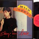 """Rolling Stones / Mick Jagger - Lucky In Love - 12"""" Vinyl LP Record - 2 Mixes - Promo - Rock"""