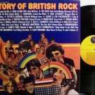 History Of British Rock - Various Artists - Vinyl 2 LP Record Set - Rock