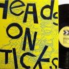 Heads On Sticks - Second Feeding - Vinyl LP Record - Rock