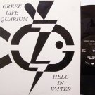 Greek Life Aquarium - Hell In Water - Signed - Vinyl Mini LP Record - Rock