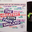 Greatest Hits From England, The - Various Artists - Vinyl LP Record - Rock
