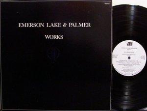 Emerson Lake & Palmer - Works Volume 1 - Vinyl 2 LP Record Set - ELP - Rock