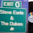 Earle, Steve & The Dukes - Exit 0 - Vinyl LP Record - Rock