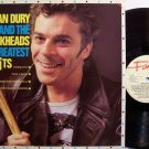 Dury, Ian & The Blockheads - Greatest Hits - UK Pressing - Vinyl LP Record - Rock