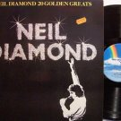 Diamond, Neil - 20 Golden Greats - UK Pressing - Vinyl LP Record - Pop Rock