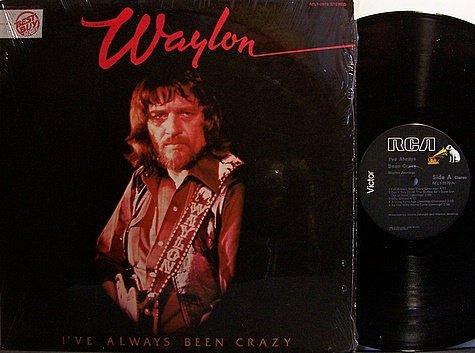 Jennings, Waylon - I've Always Been Crazy - Vinyl LP Record - Country