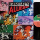 Crosby Stills & Nash - Allies - Vinyl LP Record - CSN - Rock