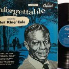Cole, Nat King - Unforgettable - UK Pressing - Vinyl LP Record - Pop