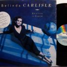 Carlisle, Belinda - Heaven On Earth - Vinyl LP Record - Go Go's - Pop Rock